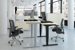 ConSet 501-37 series of height adjustable tables